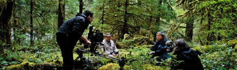 Filming in Andrews Experimental Forest, United States